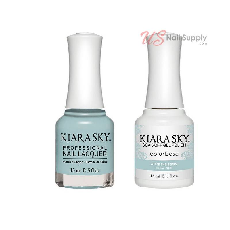 Kiara Sky Gel + Lacquer, After The Reign G535