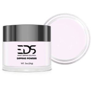 EDS Pink & White Clear Glitter 2 Oz