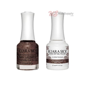 Gel + Lacquer, Chocolate Glaze G467