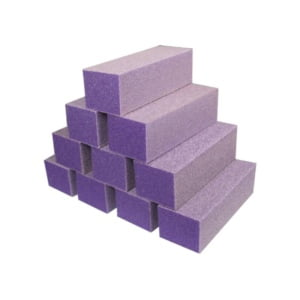 Purple Buffer White Grit Premium 3-Way