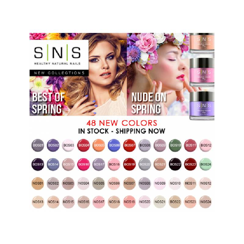SNS Best of Spring & Nude on Spring Collection 48pcs