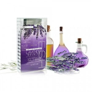 Complete Pedi in a Box 4 in 1 Kit - Lavender Relieve Case of 50 Pack