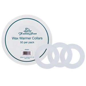 Wax Warmer Collars 50/pk (cut)