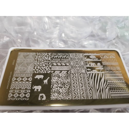 Color Club Stamping Plate (Africa)