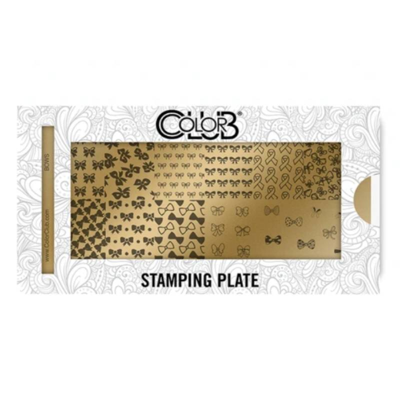 Color Club Stamping Plate (Bows)