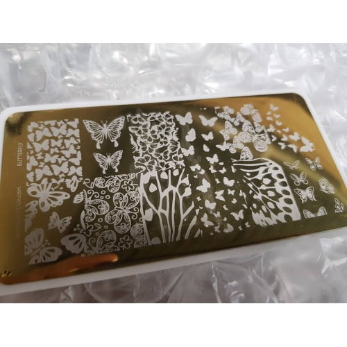 Color Club Stamping Plate (Butterfly)