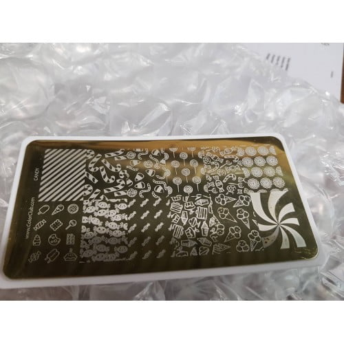 Color Club Stamping Plate (Candy)