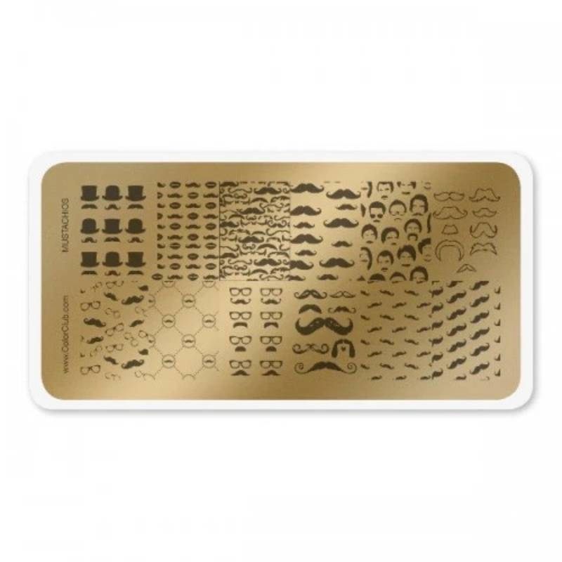Color Club Stamping Plate (Hipster)