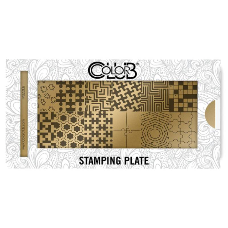 Color Club Stamping Plate (Puzzle)