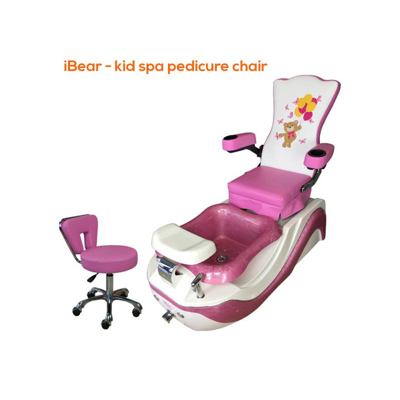 Kid Pedicure Chair with stool included ibear