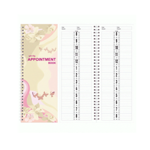 Salon Appointment Book - 2 Column 200 pages AB102