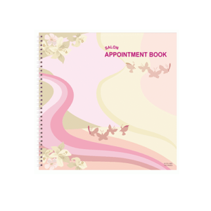 Salon Appointment Book - 6 Column 150 pages AB106